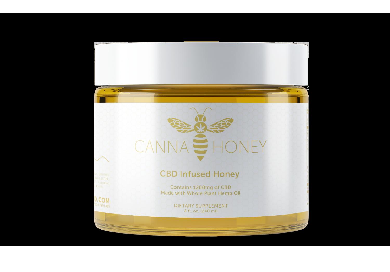 Canna Honey CBD Hemp THC Oregon Homemade Medicinal Marijuana Jar