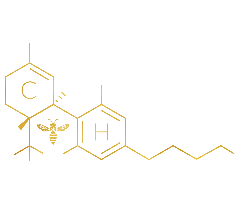 Canna Honey CBD Hemp THC Oregon Homemade Medicinal Marijuana Jar Molecule